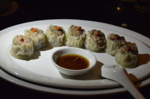 Steamed Wallaby & pork  siu mai dumplings w goji berry