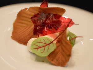 'Apple tartlet'