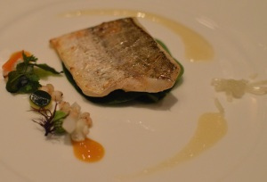 King George whiting, acidities of pickles Japanese style & yuzu