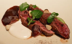 Flinders Island Wallaby w scorched macadamia & ground berry