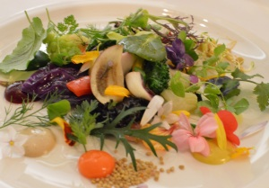 Nic's souvenir of Laguiole Meli of vegetables
