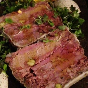 Marsala Duck terrine