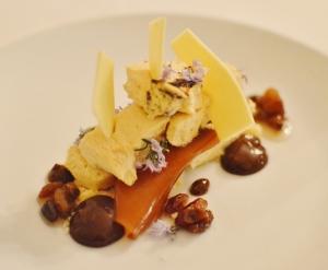 Pedro Ximenez & prune parfait w bergamot & white chocolate