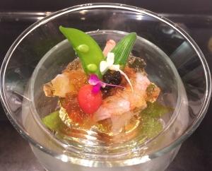 Prawn & Abalone Tosazu Jelly